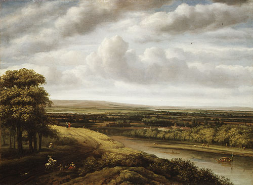 An Extensive Wooded Landscape | Philips Koninck | Oil Painting