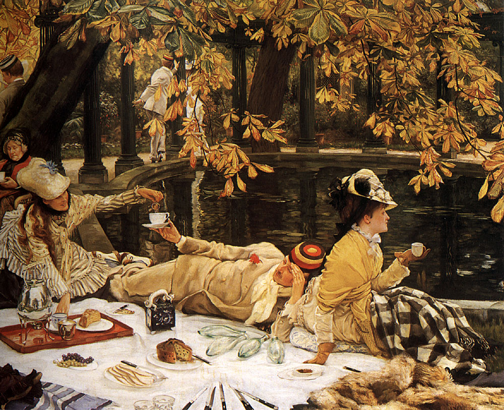 The Picnic | Jacques Joseph Tissot | Oil Painting