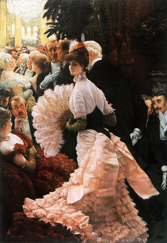 The Political Lady | Jacques Joseph Tissot | Oil Painting