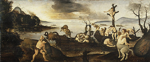 The Return from the Hunt ca 1505 | Piero di Cosimo | Oil Painting