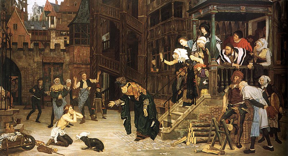 The Return of the Prodigal Son | Jacques Joseph Tissot | Oil Painting