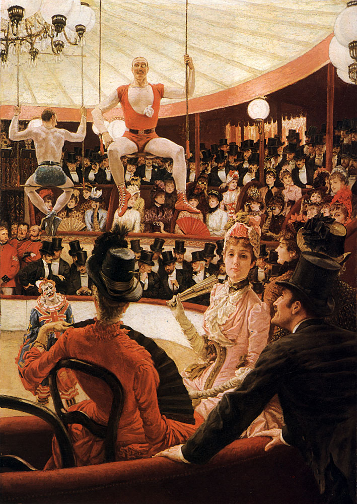 The Sporting Ladies | Jacques Joseph Tissot | Oil Painting