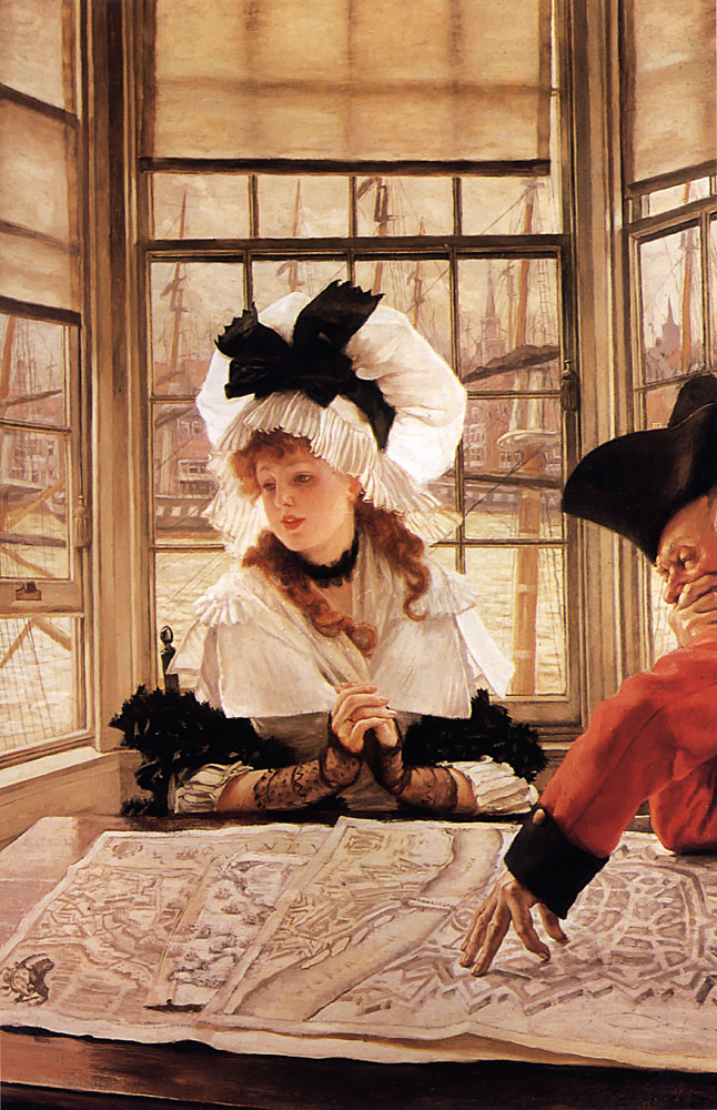 The Tedious Story | Jacques Joseph Tissot | Oil Painting