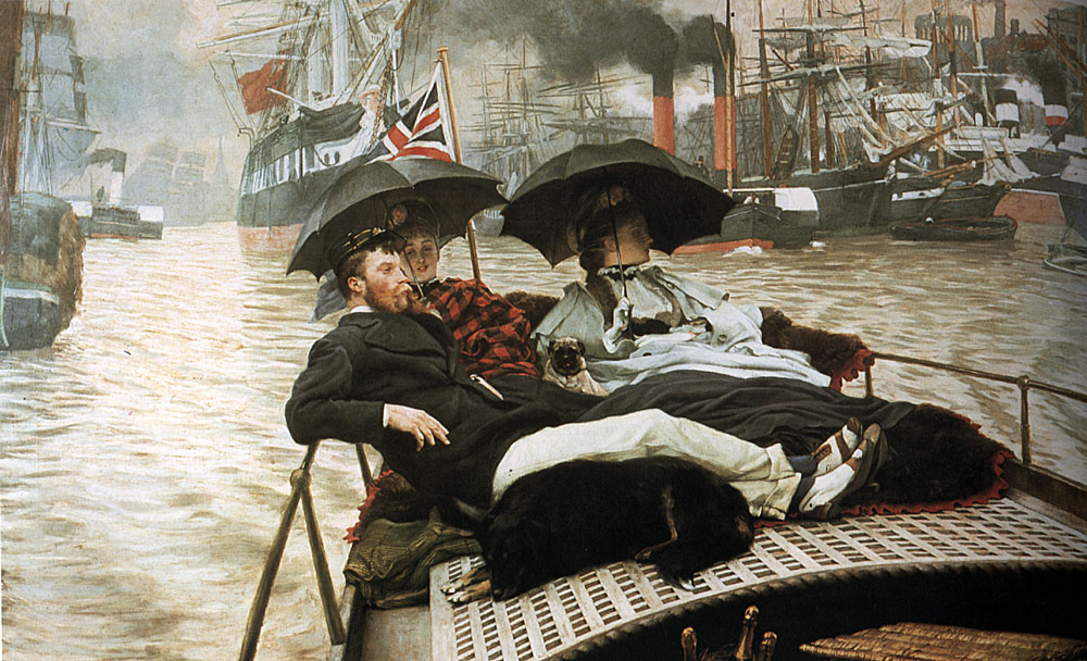 The Thames | Jacques Joseph Tissot | Oil Painting