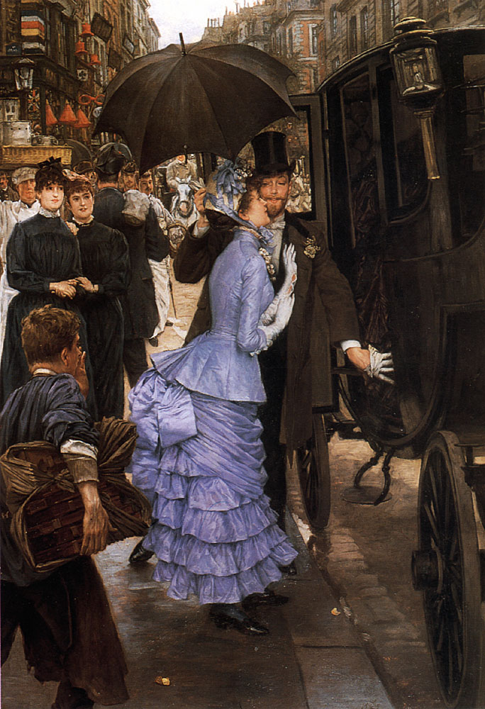 The Traveller | Jacques Joseph Tissot | Oil Painting