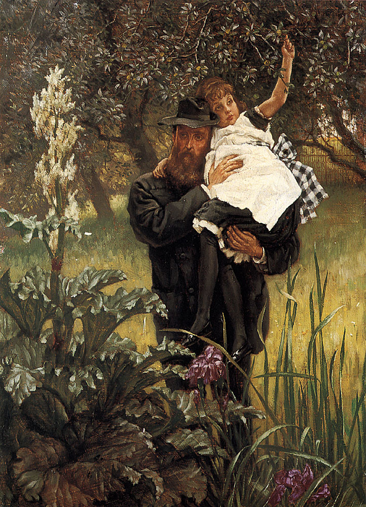 The Widower | Jacques Joseph Tissot | Oil Painting