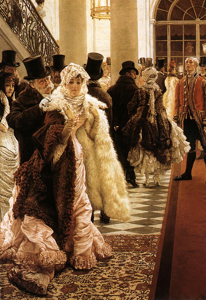 The Woman of Fashion | Jacques Joseph Tissot | Oil Painting