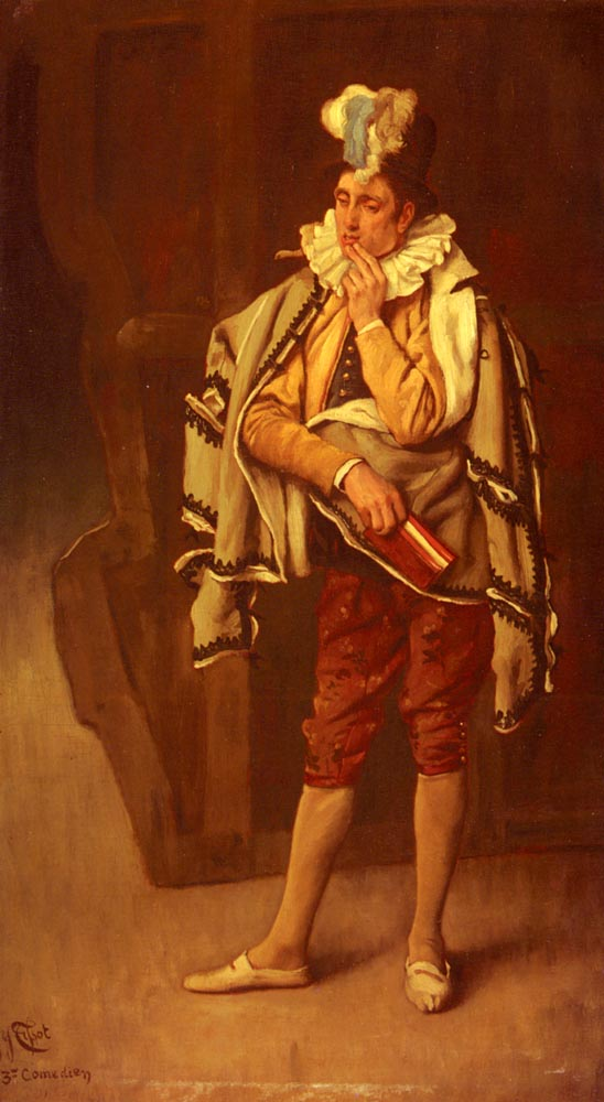 Le Comedien | Jacques Joseph Tissot | Oil Painting