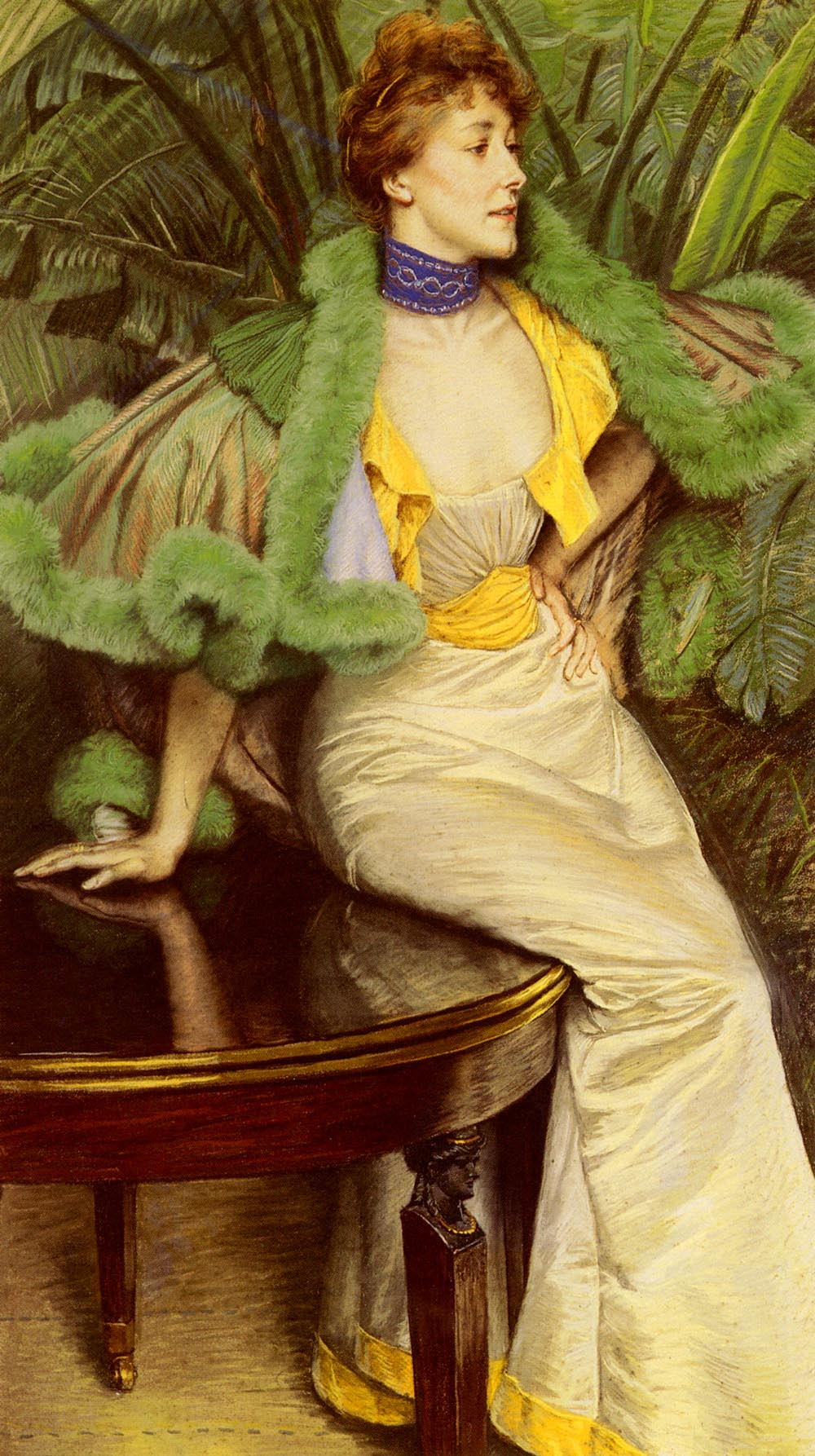 The Princesse De Broglie | Jacques Joseph Tissot | Oil Painting