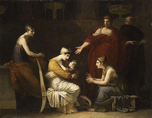 Andromache and Astyanax 1814 | Pierre Paul Prudhon | Oil Painting