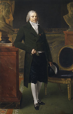 Charles Maurice de Talleyrand Pigord   Pierre Paul Prudhon   Oil Painting