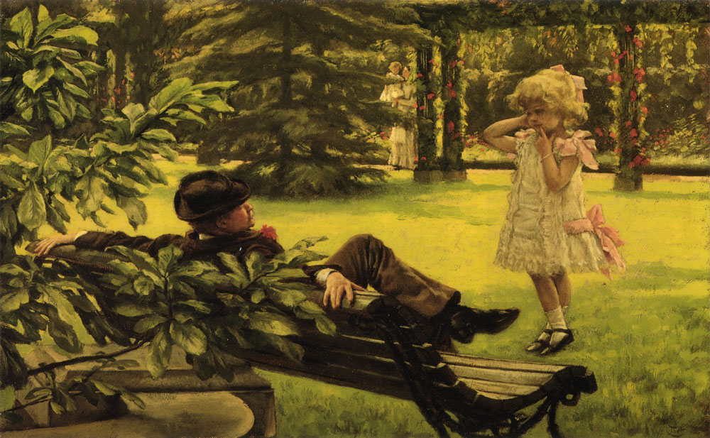 Uncle Fred | Jacques Joseph Tissot | Oil Painting