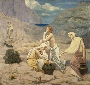 The Shepherd's Song 1891 | Pierre Puvis de Chavannes | Oil Painting
