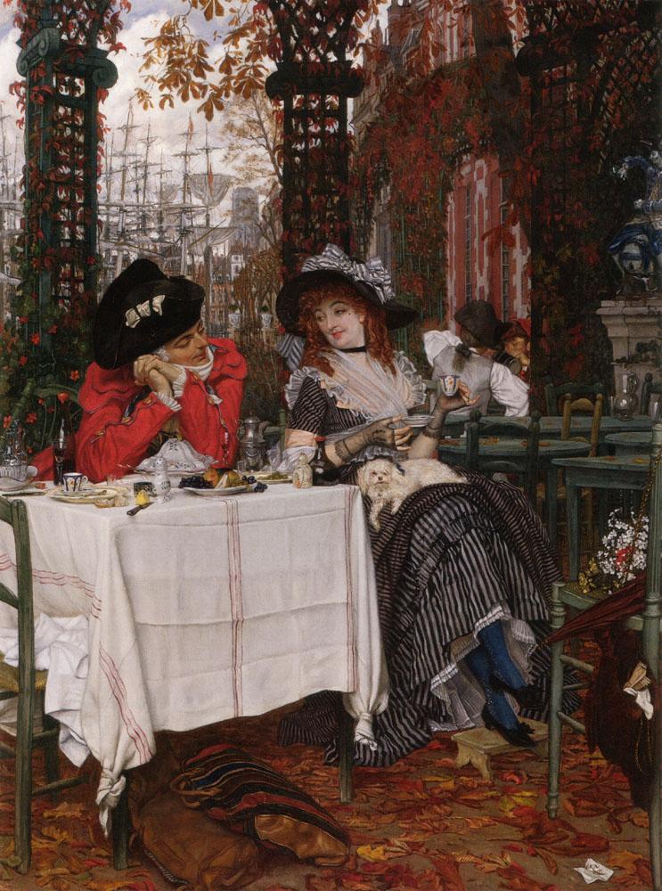 Un Dejeuner | Jacques Joseph Tissot | Oil Painting