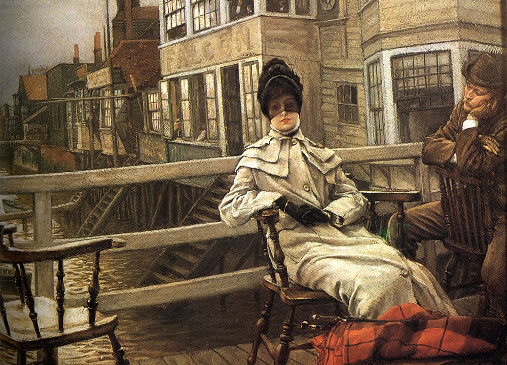 Waiting for the Ferry 2 | Jacques Joseph Tissot | Oil Painting