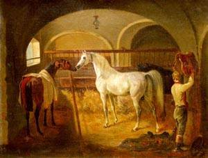 Stallinneres | Jacques Laurent Agasse | Oil Painting