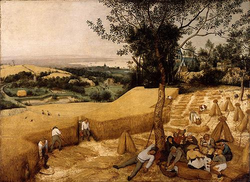 The Harvesters 1565 | Pieter Bruegel the Elder | Oil Painting