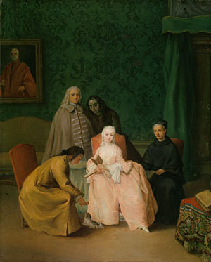 The Visit 1746 | Pietro Longhi | Oil Painting