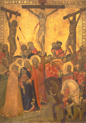 The Crucifixion 1340s | Pietro Lorenzetti | Oil Painting