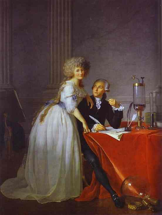 Portrait Of Antoine Laurent And Marie Anne Lavoisier 1788 | Jacques-Louis David | Oil Painting