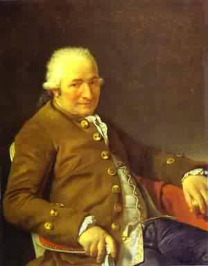 Portrait Of Charles Pierre PeCoul Contractor Of Royal Buildings | Jacques-Louis David | Oil Painting