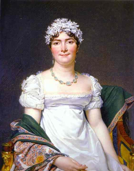Portrait Of Countess Daru 1810 | Jacques-Louis David | Oil Painting
