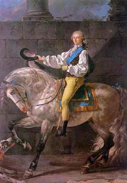 Portrait Of Count Stanislas Potocki 1780 | Jacques-Louis David | Oil Painting