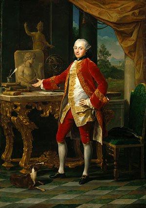Portrait of a Young Man ca 1760   Pompeo Girolamo Batoni   Oil Painting