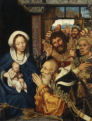 The Adoration of the Magi 1526 | Quentin Massys | Oil Painting
