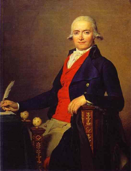 Portrait Of Gaspar Mayer 1795 | Jacques-Louis David | Oil Painting
