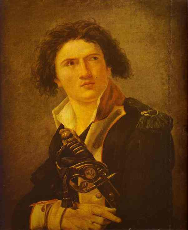 Portrait Of Lazre Hoche 1793 | Jacques-Louis David | Oil Painting