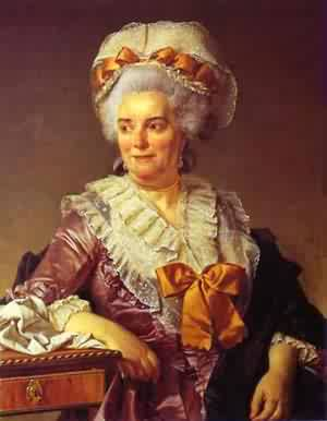 Portrait Of Madame PeCoul Mother In Law Of The Artist 1784 | Jacques-Louis David | Oil Painting
