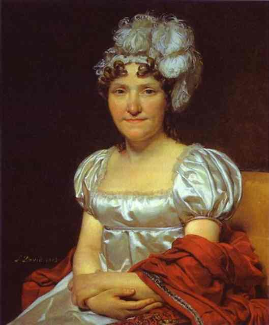 Portrait Of Marguerite Charlotte David 1813 | Jacques-Louis David | Oil Painting
