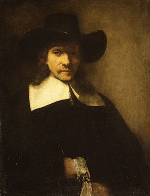 Portrait of a Man possibly 1650s | Rembrandt | Oil Painting