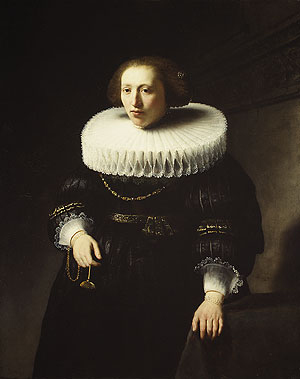 Portrait of a Woman 1632 | Rembrandt | Oil Painting