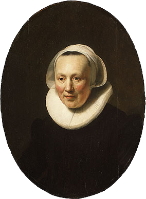 Portrait of a Woman 1633 | Rembrandt | Oil Painting