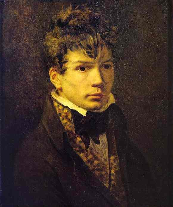 Portrait Of Young Ingres   Jacques-Louis David   Oil Painting
