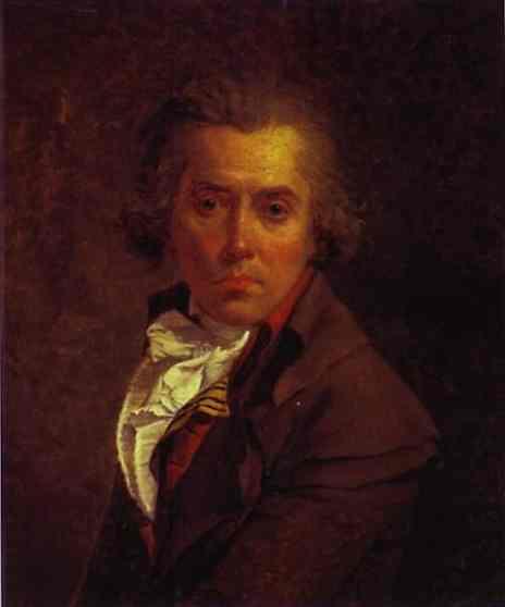 Self Portrait 1791 | Jacques-Louis David | Oil Painting