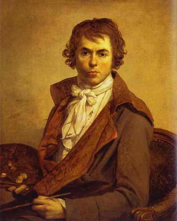 Self Portrait 1794 | Jacques-Louis David | Oil Painting