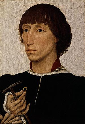 Francesco d Este ca 1460 | Rogier van der Weyden | Oil Painting