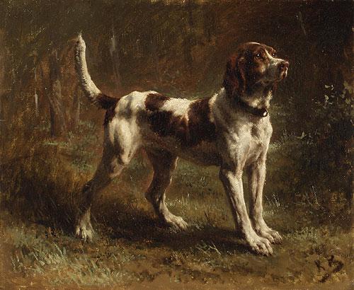 A Limier Briquet Hound ca. 1880 | Rosa Bonheur | Oil Painting