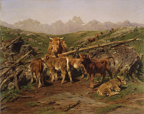 Weaning the Calves 1879 | Rosa Bonheur | Oil Painting