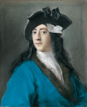 Gustavus Hamilton Second Viscount Boyne in Masquerade Costume 1730 | Rosalba Carriera | Oil Painting