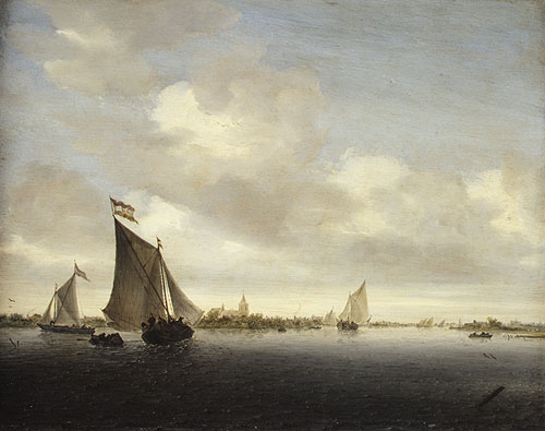 Marine 1650 | Salomon van Ruysdael | Oil Painting