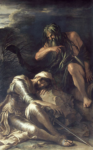 The Dream of Aeneas | Salvator Rosa | Oil Painting