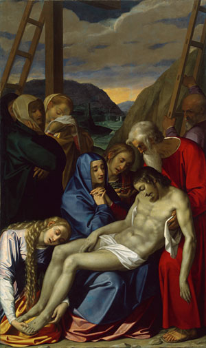 The Lamentation 1593 | Scipione Pulzone | Oil Painting