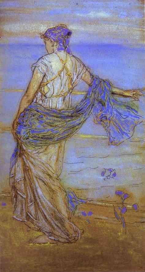 Annabel Lee 1890 | James Abbott McNeill Whistler | Oil Painting