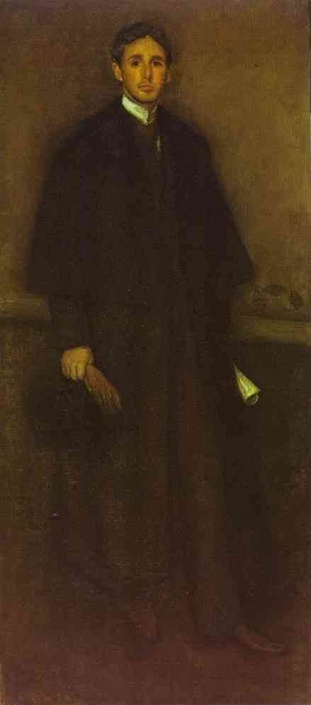 Arrangement In Flesh Colour And Brown Portrait Of Arthur J Eddy 1894 | James Abbott McNeill Whistler | Oil Painting