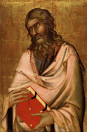 Saint Andrew probably ca 1326 | Simone Martini | Oil Painting