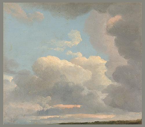 Study of Clouds ca 1800 | Simon Joseph Alexander Clent Denis | Oil Painting